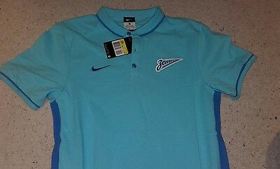 Zenit St Petersburg Football - Polo Shirt by Nike - Size Small - BNWT