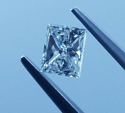 0.50ct Carat GIA Certified Princess Cut Brilliant Loose Diamond I Color SI1