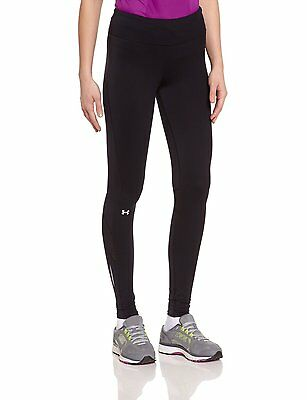 Under Armour 1264387-001 Women's Fly-By Printed Legging - Black/Reflective - XL
