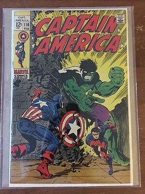 Captain America 110 (1969 Marvel) 7.5-8.0 VF 1st Madame Hydra - Agents Of Shield