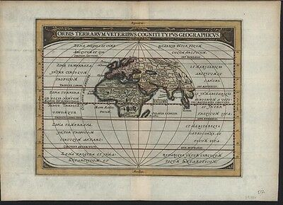 Eastern Hemisphere 1661 Jansson Ancient World antique map Asia Africa Europe