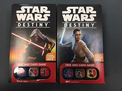 Star Wars Destiny Kylo Ren And Rey Starter Sets