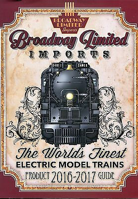 Ho Scale:  Broadway Limited 2016-2017 Color Catolog
