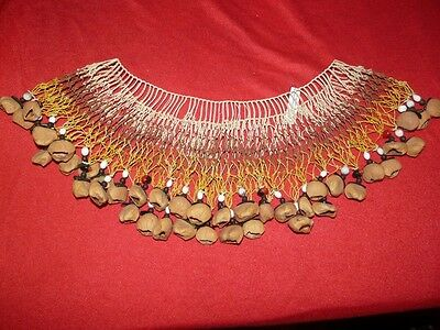 Cofan Ecuador Amazon Indian Necklace With Bettle Wings