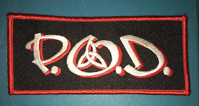Vintage 1990's P.O.D Payable On Death Music Hat Jacket Backpack Hoodie Patch