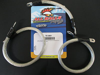 All Balls Battery Cables/ Leads Dyna Glide (FXD) 91-03 Harley Chopper Custom Use
