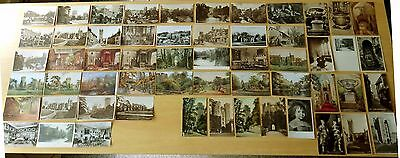 Big Lot of 56 Antique & Vintage Postcards ALL WARWICK,ENGLAND 24 Real Photo RPPC
