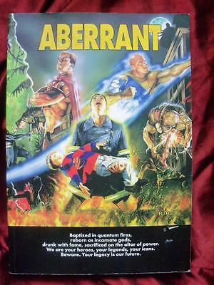 ABERRANT ROLE PLAYING GAME CORE RULEBOOK White Wolf RPG OOP RARE VGC