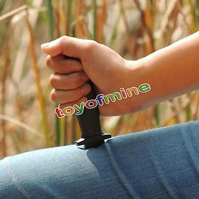 Comedy Magic Plastic Retractable Dagger Joke Prank Props Knife Scary Trick