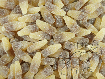Lolliland Sour Cola Bottles 1kg Gummi Lollies