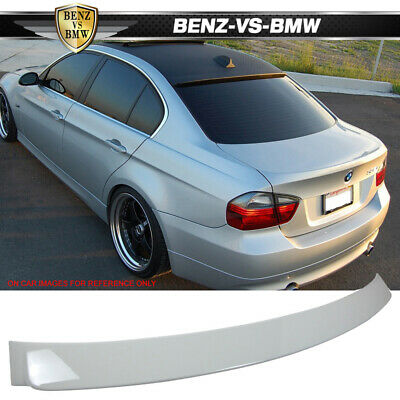 05-11 BMW 3 Series E90 Ac Style Unpainted ABS Roof Spoiler