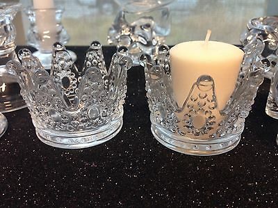 12-Baby Shower Princess Crown Candle Holder Table Decorations Party Favors