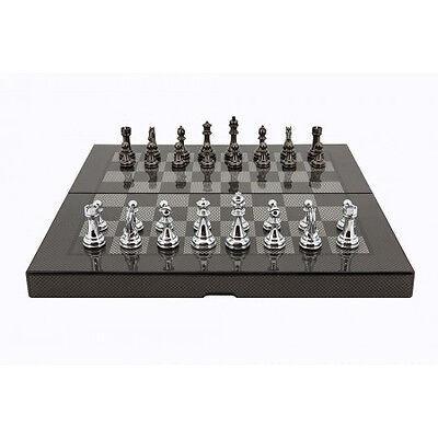 New Dal Rossi Carbon Fiber Folding Chess Board game