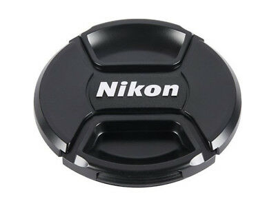LC-52  front camera  lens cap for NIKON 52mm filter thread Snap-on - UK SELLER