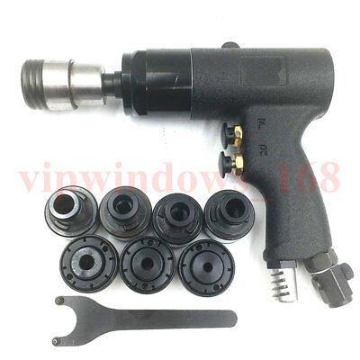 200rpm Air Pneumatic Hand Tapper Tapping Machine Torque Protection M3-M12 Chuck