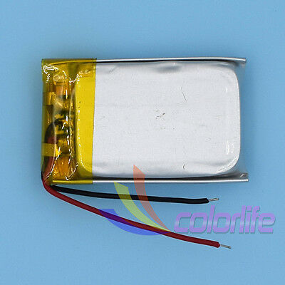 Li-Polymer Rechargeable Battery 3.7V 400mAh 702030 Liion Li-po Cell for GPS MP3
