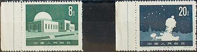 China. MNG (*)1144/45. 1958. Serie completa. MAGNIFICA. Yvert 2014: 25 Euros.