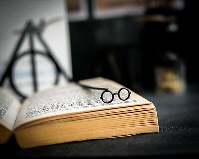 Harry Potter glasses - steel bookmark - 7 inches / 17 cm long