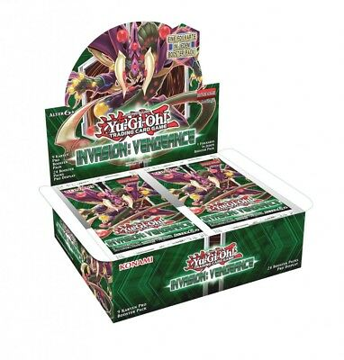 Yu-Gi-Oh! Invasion: Vengeance Display (24 Booster) Neu & OVP