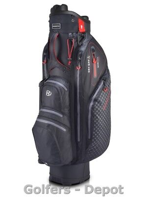 Bennington Cartbag Quiet Organizer QO 9 Lite Waterproof black red