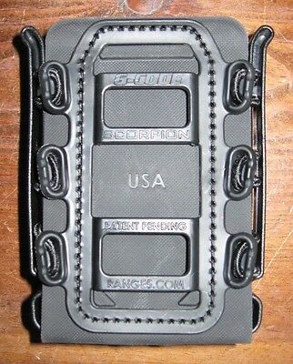G-CODE Soft Shell Scorpion rifle mag carrier black magazine holder single pouch