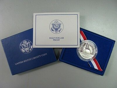 1986 Statue of Liberty Proof Half Dollar Commemorative Coin US Mint