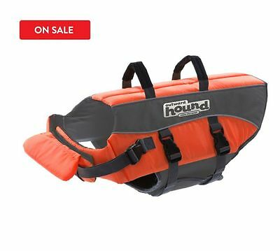 Outward Hound Pupsaver Ripstop Life Jacket Orange Xs