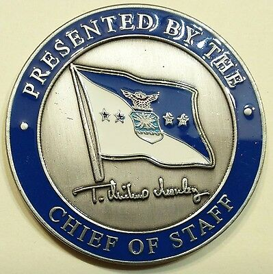 General T. Michael Moseley Chief of Staff Air Force Challenge Coin