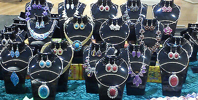 10 set jewellery set wholesale Necklace Earrings Wholesale joblot