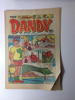 THE DANDY COMIC - 20th JUNE 1987 - 30th Birthday GIFT  - (issue: 2378)