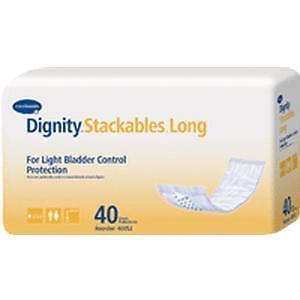 Dignity Extra-Long Disposable Pads 3-1/2'' x 15'' #40052 Package of 40 *NEW*