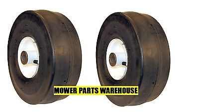 2 New Repl Toro 110-6785 Time Cutter Z Front Tires 4.10 3.50 4 Tubeless 3/4 Id