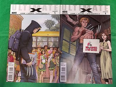 Ultimate X #1 1st AND 2nd Print SET Jimmy Hudson SOLID 9.4-9.6 Copies