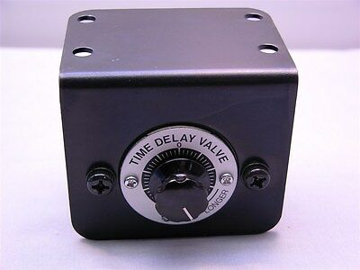 "SMC VR2110 Transmitter Time Delay Valve .5 to 60S Delay 1/4"" Quick Connect"