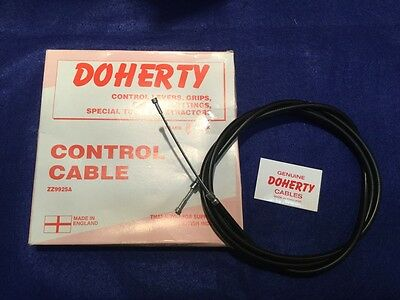 Uk Made Doherty 60-0388/9 Clutch Cable Triumph 5T 6T T100 T120 58-9