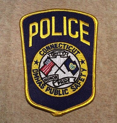 CT Connecticut DMHAS Public Safety Police Patch