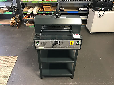 "Challenge Spartan 150SA Paper Cutter 15"" - Fully Serviced, Tested & Works Great!"