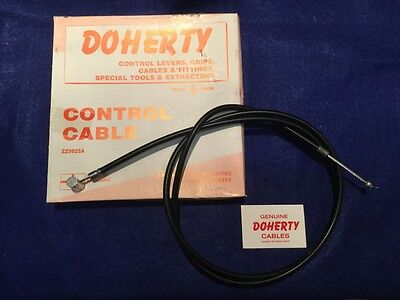 Uk Made Doherty 60-0566 Clutch Cable Triumph All 3Ta T100 1965-69