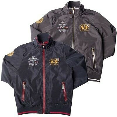 Boys Light Weight Jacket Water Repellent Coat By Santa Monica Size 4-10 Years