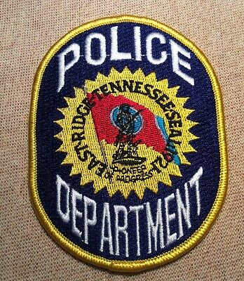 TN East Ridge Tennessee Police Patch