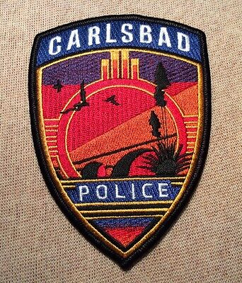 NM Carlsbad New Mexico Police Patch