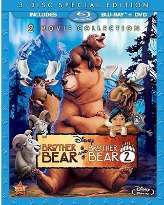 Brother Bear / Brother Bear 2 [New Blu-ray] With DVD, Special Edition, Subtitl