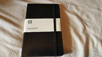 Moleskine Classic Notebook, Large, Squared, Black, Hard Cover grid graph pages