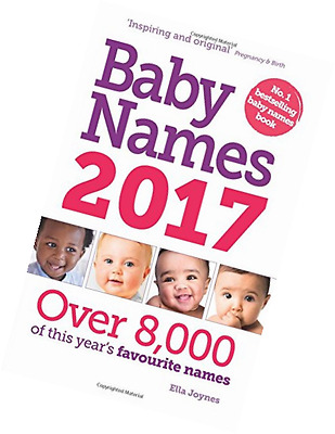 Baby Names 2017 Inspiring Original Pregnancy and Birth Book FAST FREE DELIVERY