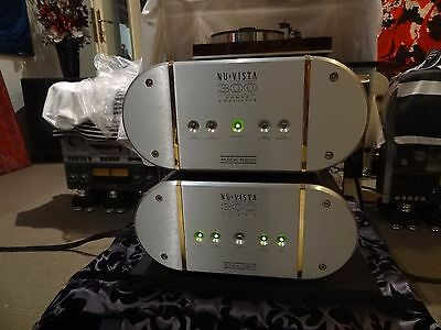 musical fidelity nu-vista pre and power amps