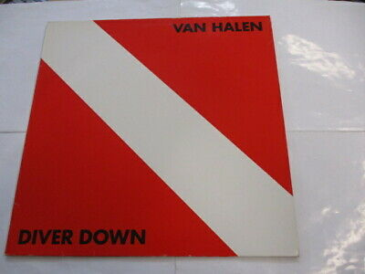 Van Halen - Diver Down - Lp Vinyl Reissue Germany Excellent Condition
