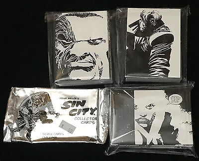 Sin City Trading Cards - Base Set of 72 by Frank Miller - 1999