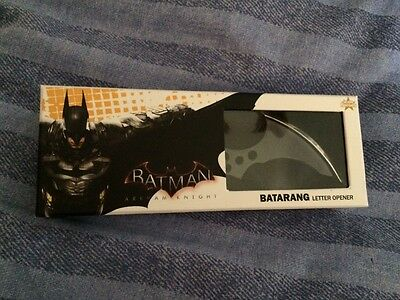 Batman arkham knight collectable  batarang letter opener