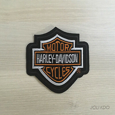 Patch Ecusson Thermocollant ★Harley Davidson★ Sticker Biker Motard Route 66