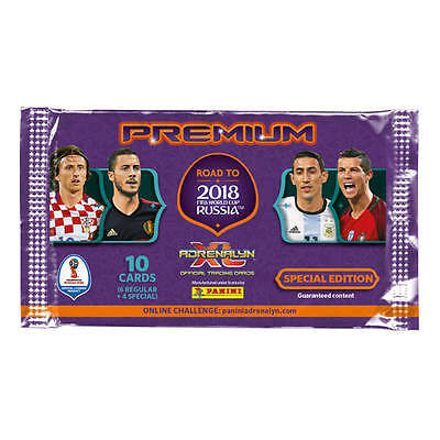 Panini Road to 2018 FIFA World Cup ~ Adrenalyn XL ~ Premium Pack Inc Limited Ed